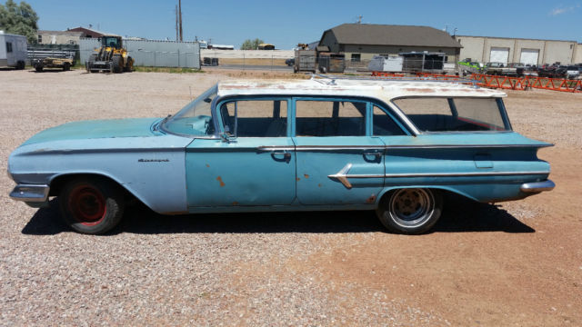 1960 chevrolet parkwood wagon original paint brookwood. Black Bedroom Furniture Sets. Home Design Ideas