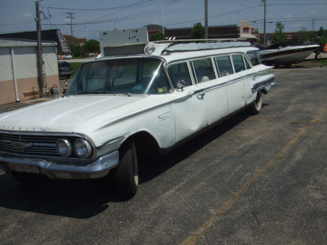 1960 chevrolet stageway 12 passenger limo for sale photos. Black Bedroom Furniture Sets. Home Design Ideas