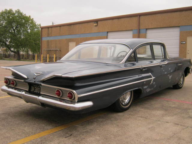 1960 Chevy Bel Air Full Air Ride 283 Auto 4 Door Bel