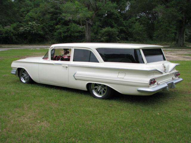 1960 Chevy Brookwood Station Wagon 2 Door Custom Pro Touring Hot