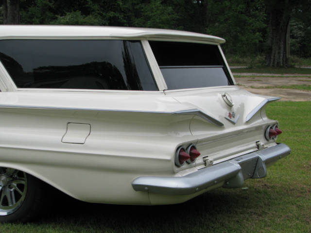 1960 chevy brookwood station wagon 2 door custom pro. Black Bedroom Furniture Sets. Home Design Ideas