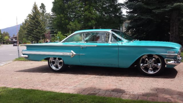 1960 Chevy Impala Resto Mod For Sale Photos Technical
