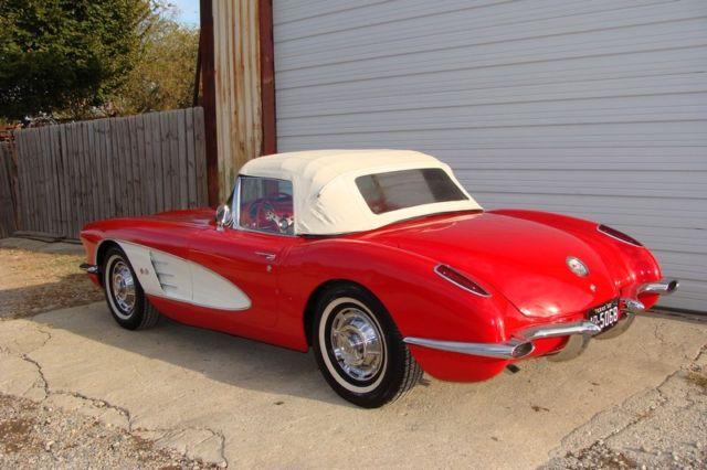 1960 Corvette Big Brake Fuelie Rpo 687 Dallas Tx Car