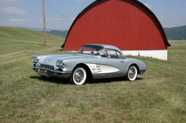 1960 Chevrolet Corvette Restored #s Match 270hp 2x4s 2 tops