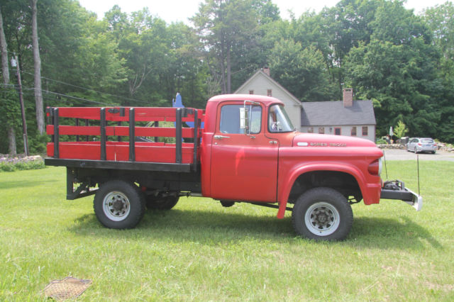 1960 Dodge Power Wagon power giant