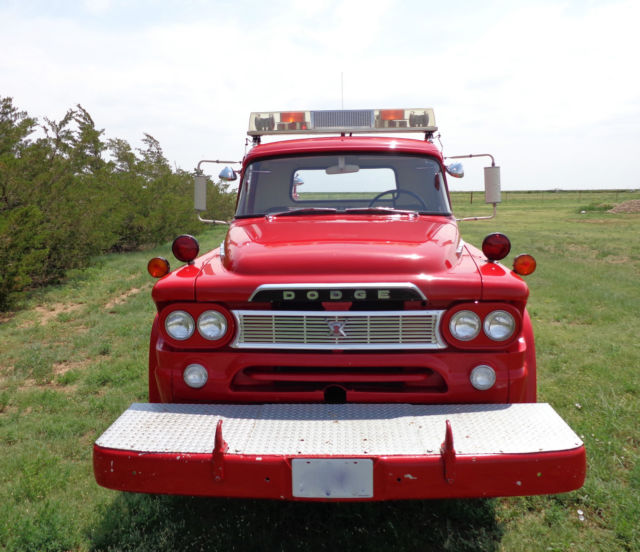 1960 Dodge W200 Power Wagon / POWER GIANT Former Firetruck