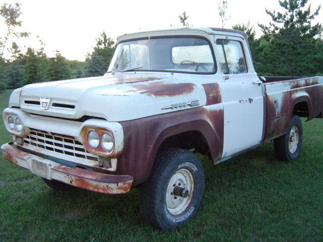 1960 Ford Other Pickups