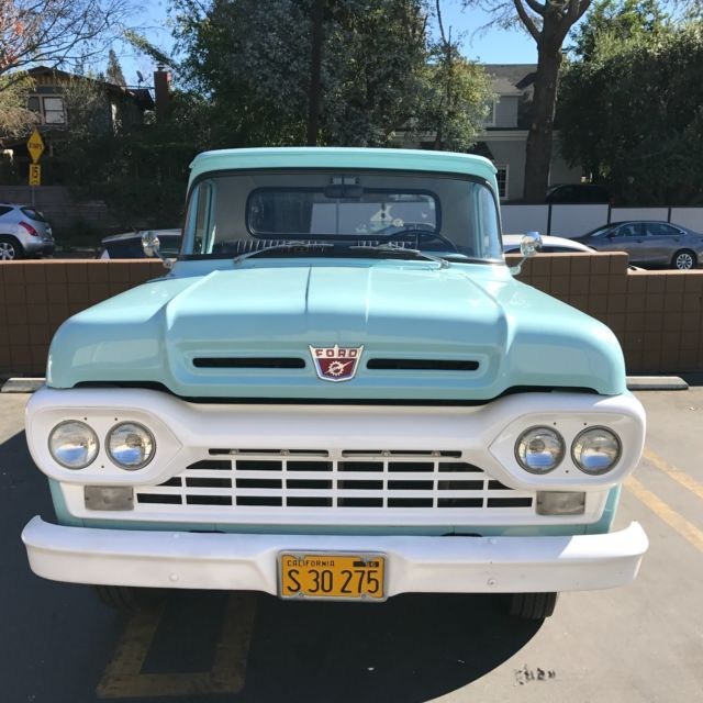1960 Ford F-250 Truck For Sale: Photos, Technical