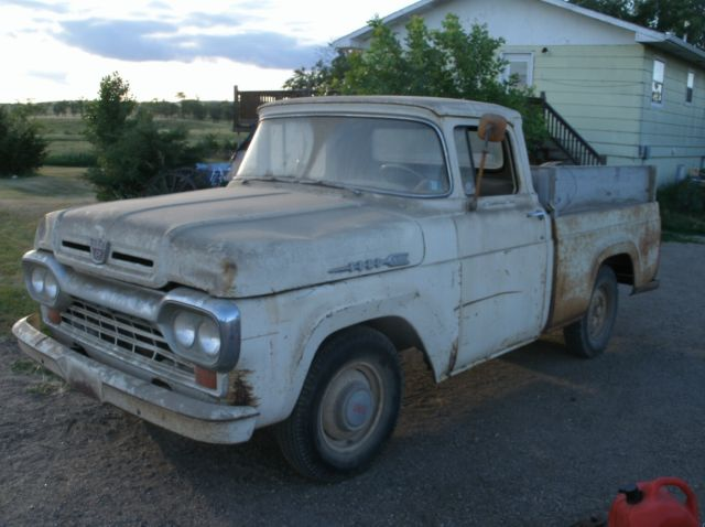 1960 Ford F-100 Shortbox
