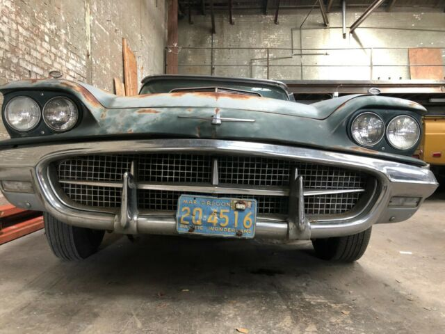 1960 Ford Thunderbird West Coast Survivor Barn find Solid original Patina car