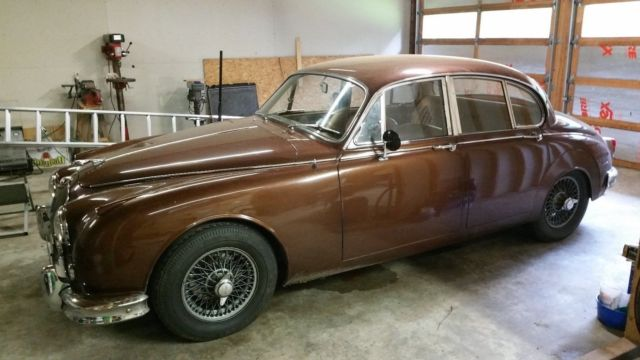 1960 Jaguar MK2 3.8L Saloon LHD Built for the US