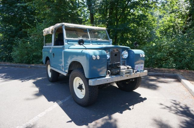 1960 Land Rover SERIES II 88'