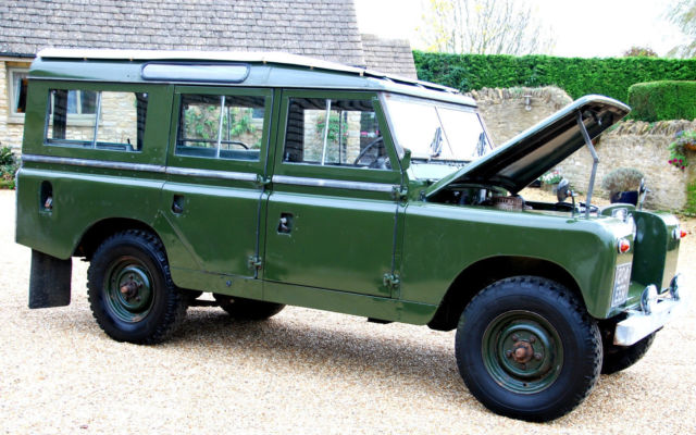 1960 landrover series 2 lwb for sale photos technical. Black Bedroom Furniture Sets. Home Design Ideas