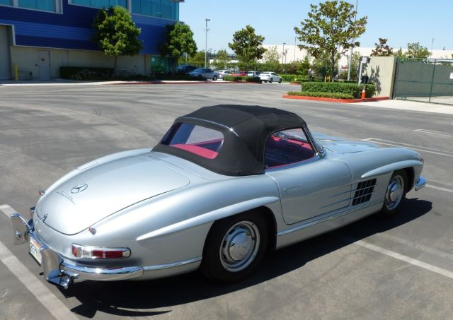 1960 mercedes 300sl roadster 2 tops los angeles california for sale photos technical. Black Bedroom Furniture Sets. Home Design Ideas