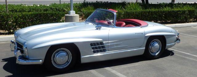 1960 mercedes 300sl roadster 2 tops los angeles california for Mercedes benz repair los angeles