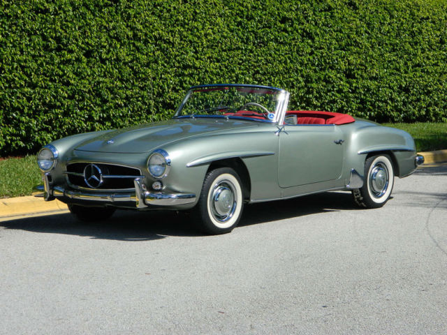 1960 Mercedes-Benz SL-Class 190SL Roadster Fully Restored