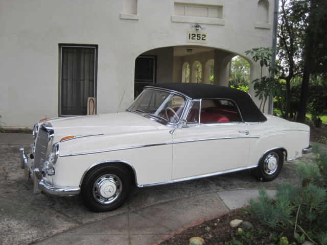 1960 Mercedes-Benz 200-Series