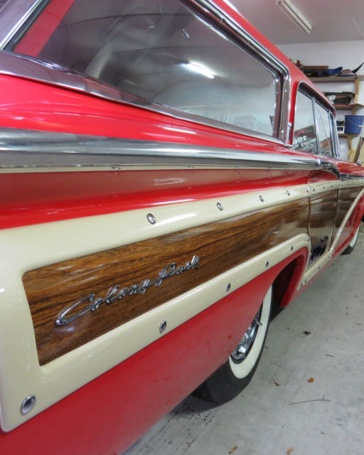 1960 Mercury Other woody wagon trim package