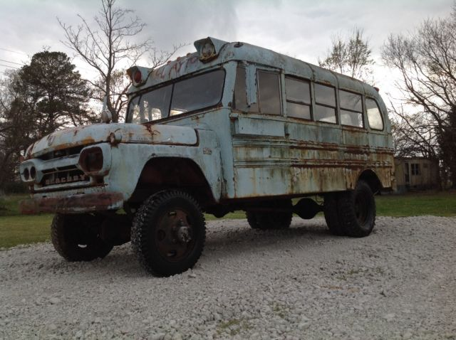 1960 Mercury NAPCO short school bus