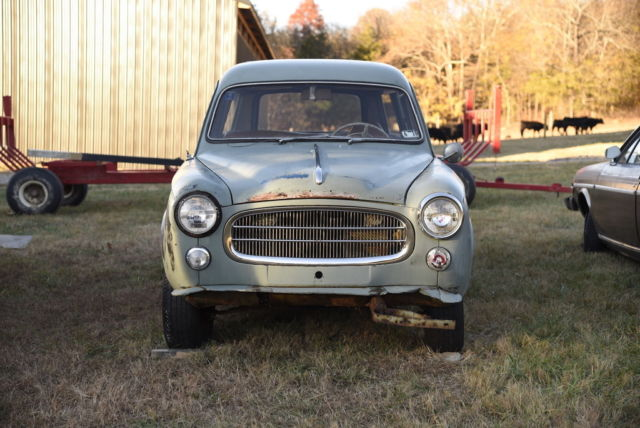 1960 peugeot 403 wagon project very solid for sale: photos