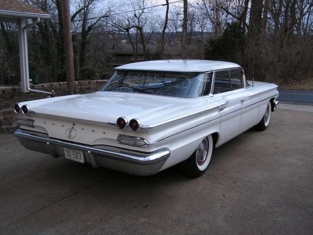 1960 pontiac ventura 4 door flat top low rider custom. Black Bedroom Furniture Sets. Home Design Ideas