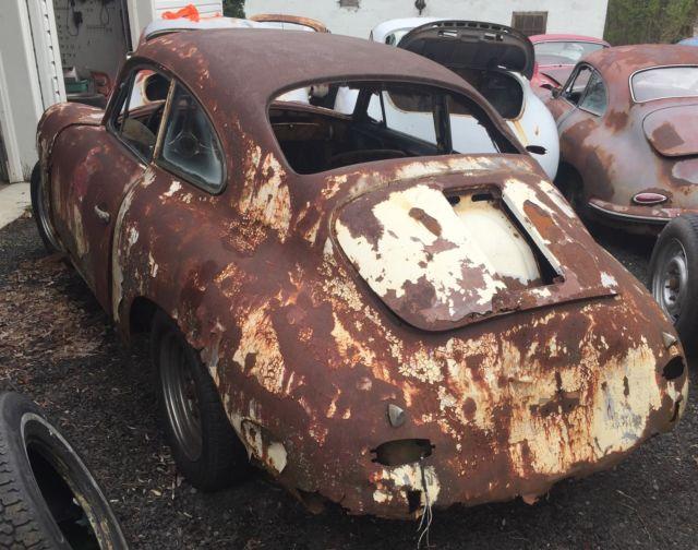1960 Porsche 356 B Coupe Parts Car For Sale Photos Technical