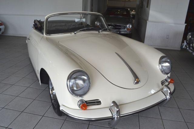 1960 Porsche 356b Super 90 Cabriolet For Sale Photos Technical