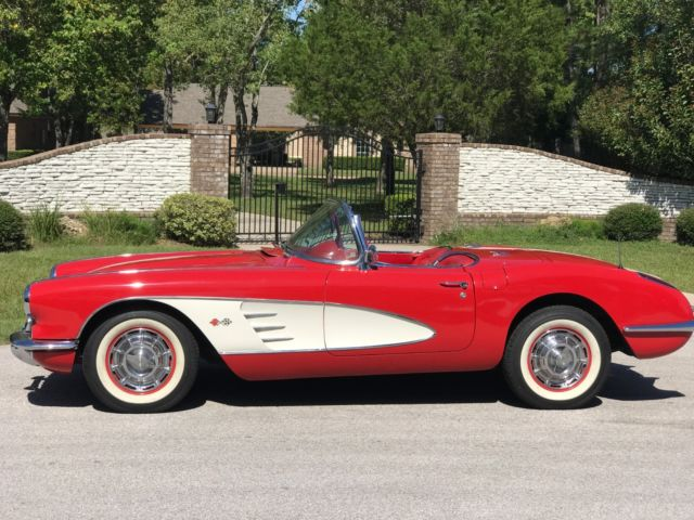 1960 Chevrolet Corvette Convertible/ Hard and Soft Tops
