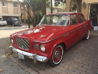 1960 Studebaker Lark 4 Door Sedan