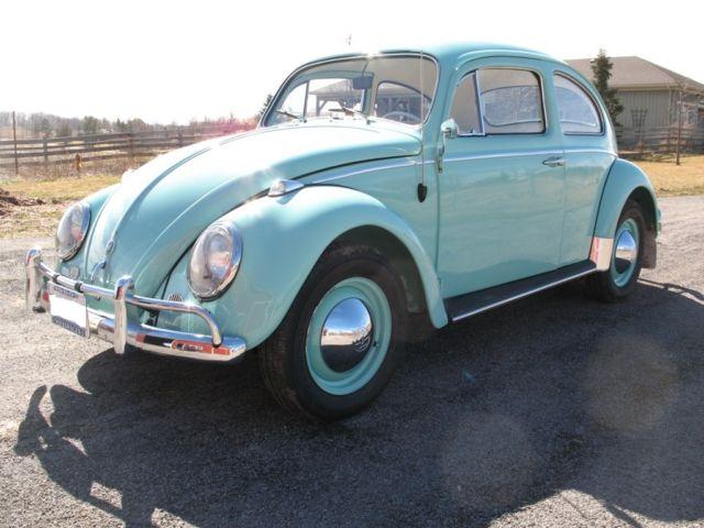 1960 volkswagen beetle classic bug for sale photos technical specifications description. Black Bedroom Furniture Sets. Home Design Ideas