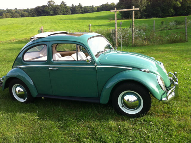 1960 vw beetle ragtop original for sale photos. Black Bedroom Furniture Sets. Home Design Ideas