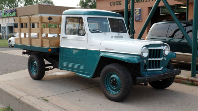 1960 Willys Stake bed Pick-up Stake bed