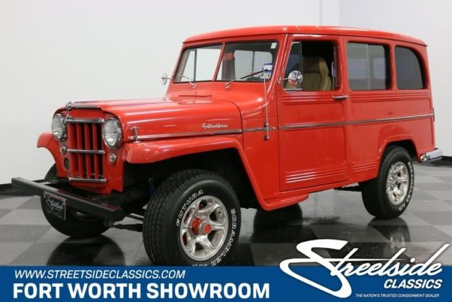 1960 Willys Utility Wagon --