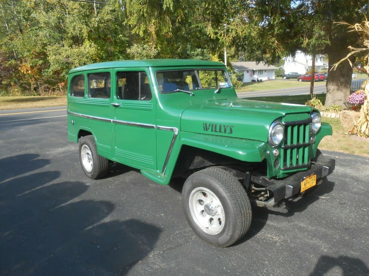 1960 Willys Wagon Jeep For Sale Photos Technical Specifications Description