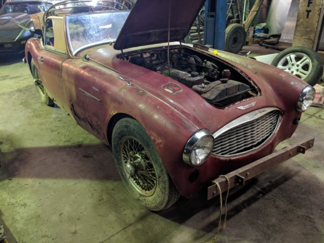 1961 Austin Healey 3000 3000 HBT71 *NO RESERVE* ALL ORIGINAL! PROJECT CAR!