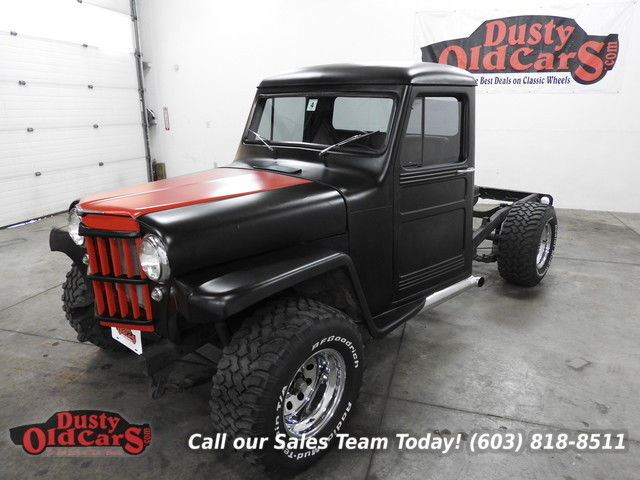 1961 Willys Truck Runs Drives Excellent Fully Restored Ad the Bed