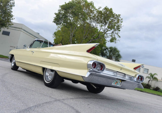 1961 Cadillac DeVille Convertible Restored! SEE VIDEO!!