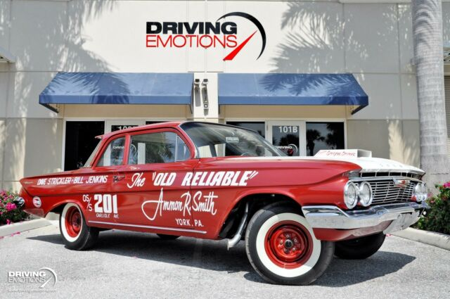 1961 Chevrolet Biscayne Coupe 409 The Old Reliable Tribute --