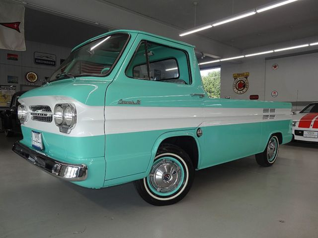 1961 Chevrolet Corvair 2 000 Miles Sea Foam Green Rampside 6 Cyl 4 Sd Manual