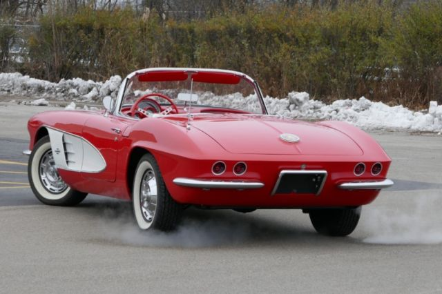 1961 Chevrolet Corvette Convertible Numbers Matching