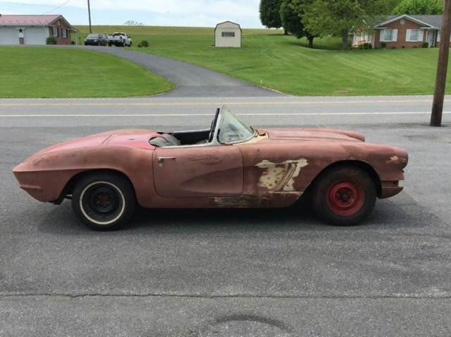 1961 Chevrolet Corvette #s Matching Engine and Drive Trans