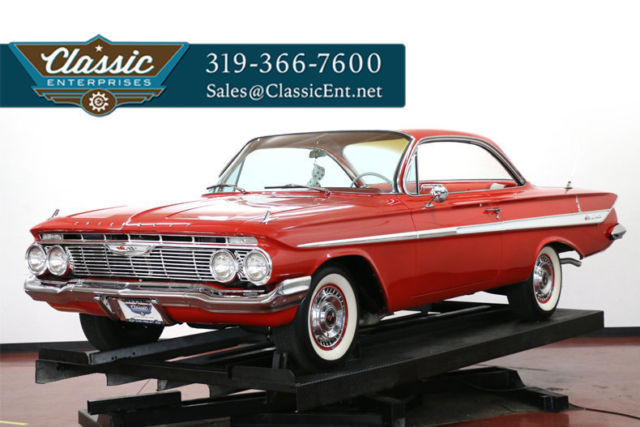 1961 Chevrolet Impala Bubbletop Tri Power