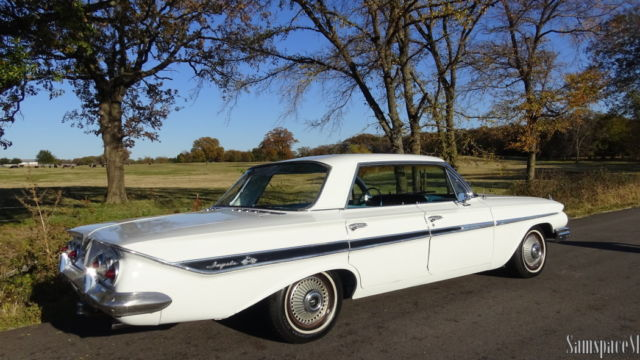 1961 Chevrolet Impala Sports Sedan FourDoor Hardtop 283 V8