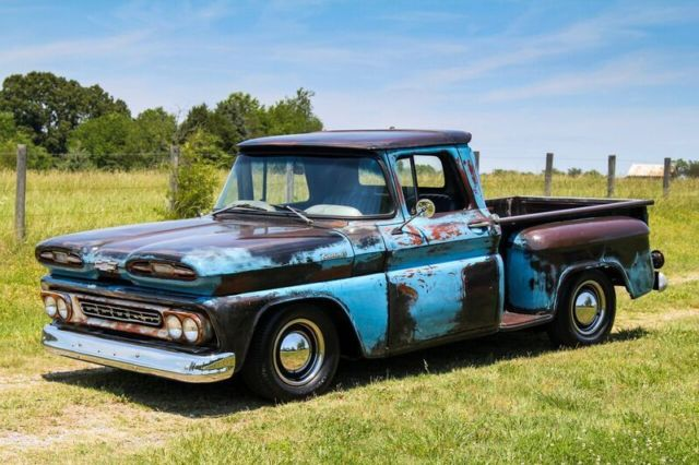 1961 Chevy Apache Patina Truck For Sale Photos Technical