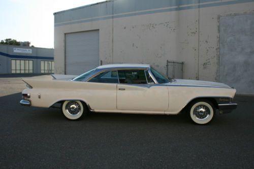 1961 chrysler new yorker 2 door hardtop rust free. Black Bedroom Furniture Sets. Home Design Ideas