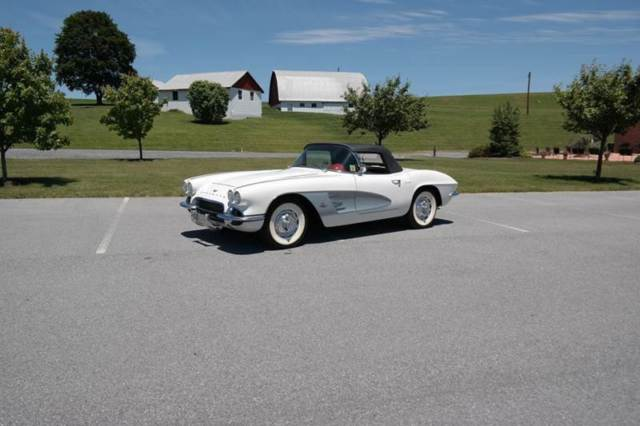 1961 Chevrolet Corvette Frame Off Restored 245hp 2x4s #s matching