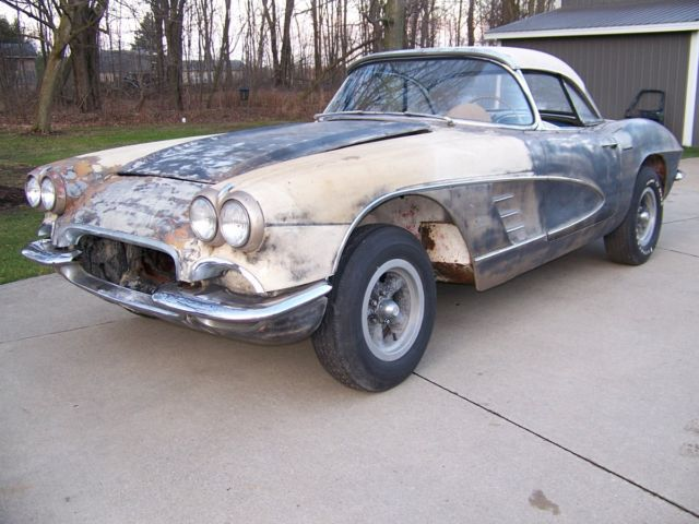 1961 Corvette For Sale >> 1961 Corvette Project Car For Sale Photos Technical Specifications