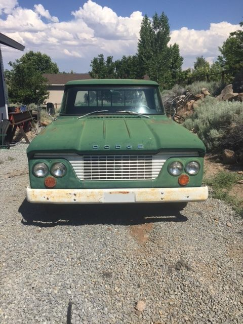 1961 dodge d100 barn find truck pickup for sale photos technical specifications description. Black Bedroom Furniture Sets. Home Design Ideas