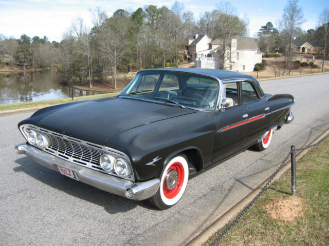 1961 dodge dart phoenix 4 door sedan late model 318 v8. Black Bedroom Furniture Sets. Home Design Ideas