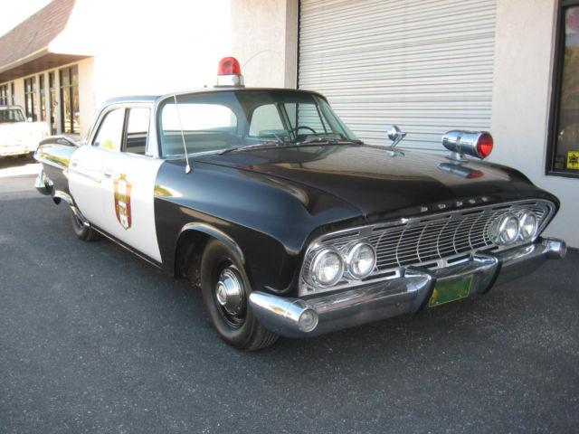 1961 Dodge Pioneer Dart Vintage Police Squad Patrol Car Replica Been